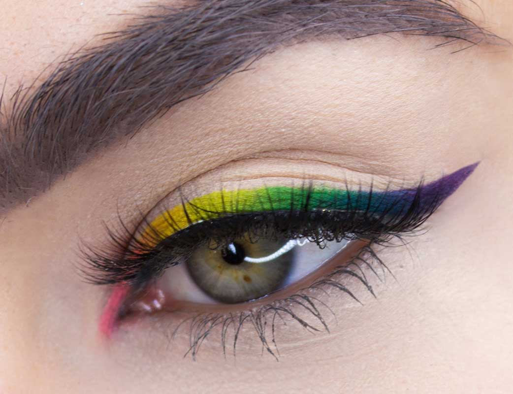 9 Idei Creative de Eyeliner 10