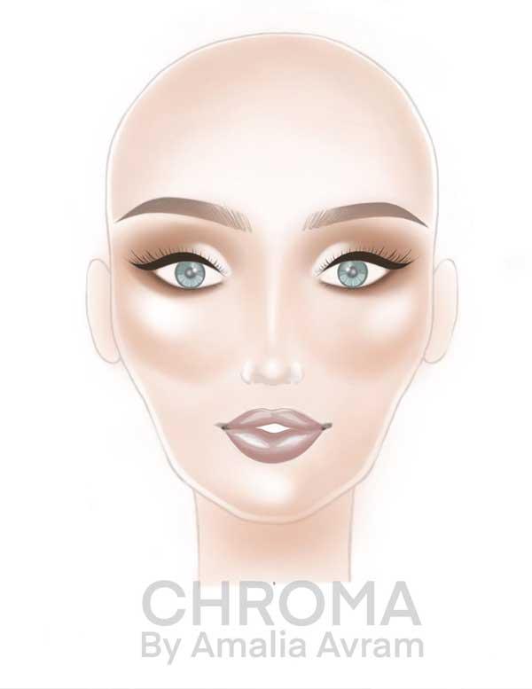 Cum să faci machiaje mai frumoase, chiar dacă nu eşti makeup artist : NUDES 16