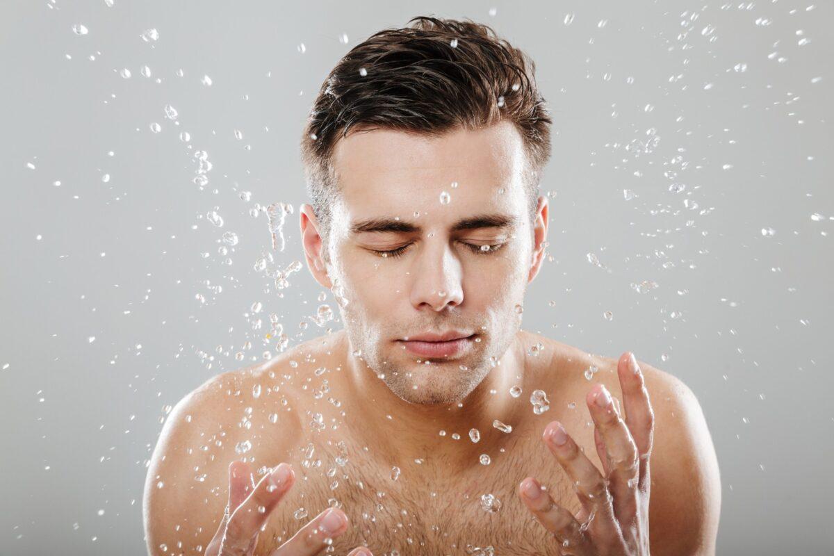 Curățarea facială la bărbați 6