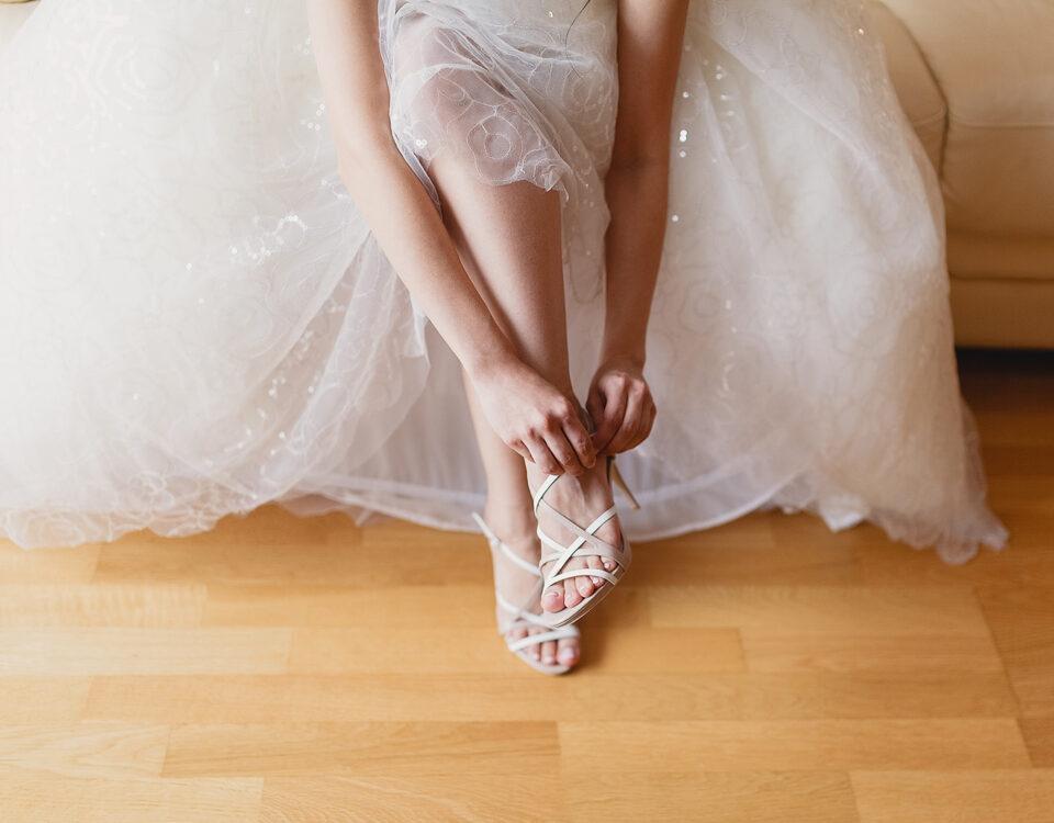 Idei pentru pedichiura de nuntă 16