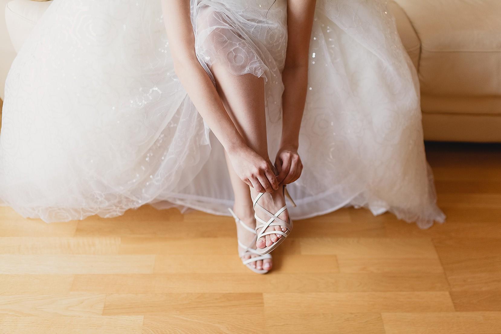 Idei pentru pedichiura de nuntă 2