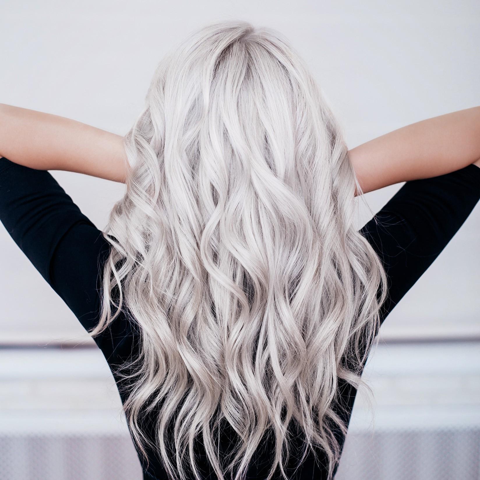 Părul de culoare gri 2