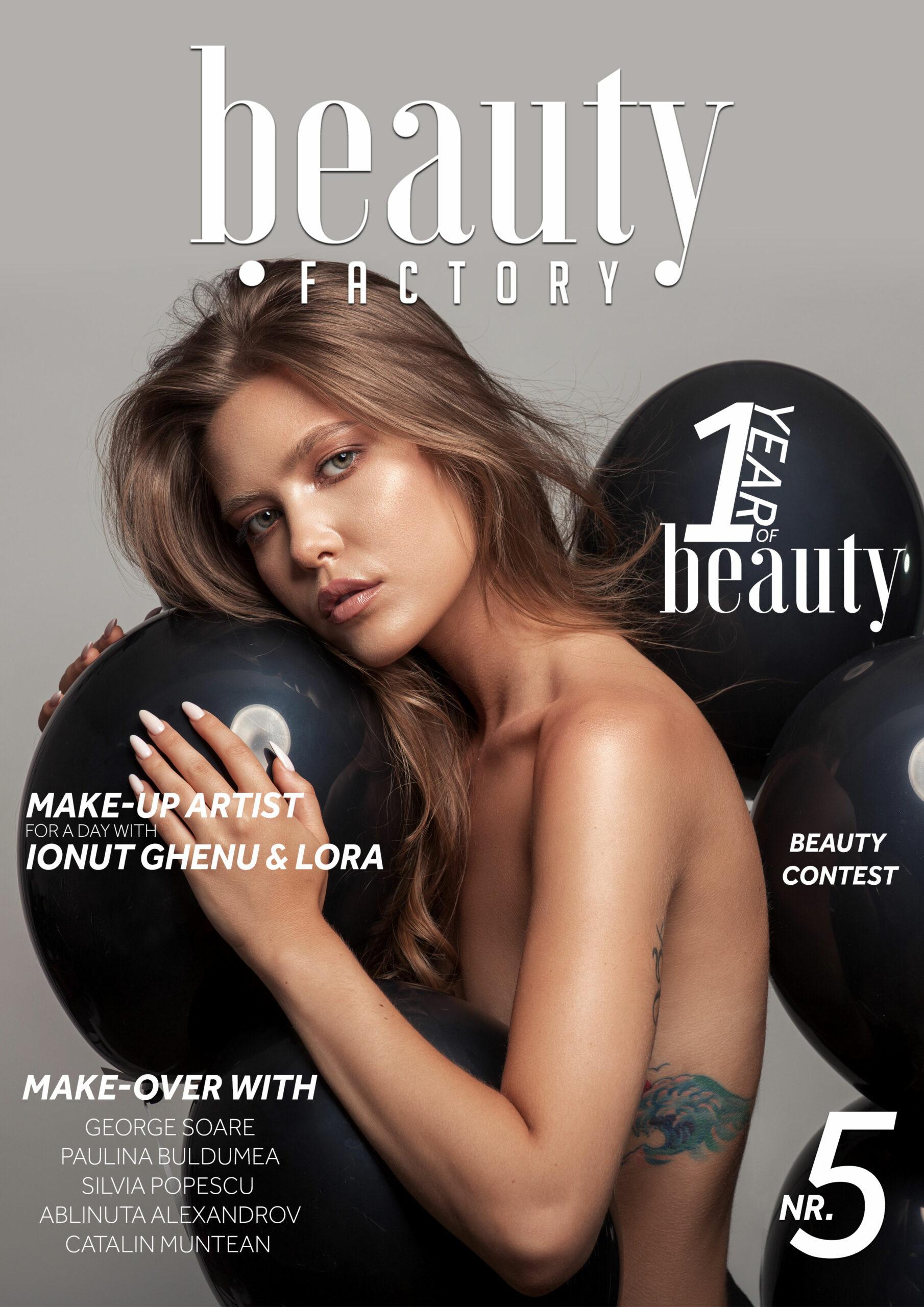1 an de la lansarea Beauty Factory Magazine 1