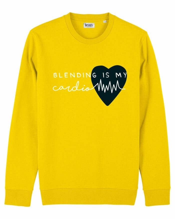 "Bluză ""Blending is my cardio"" 1"