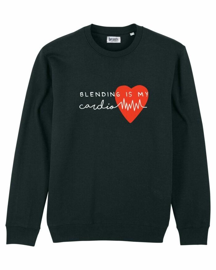 "Bluză ""Blending is my cardio"" 2"