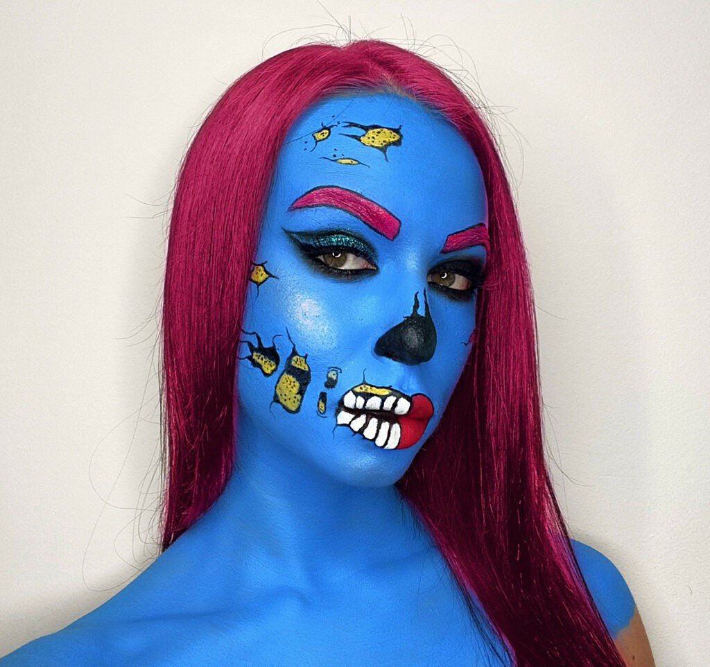 Halloween make-up ideas 9