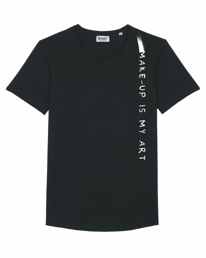 """Tricou lung """"Make-up is my art"""" 2"""