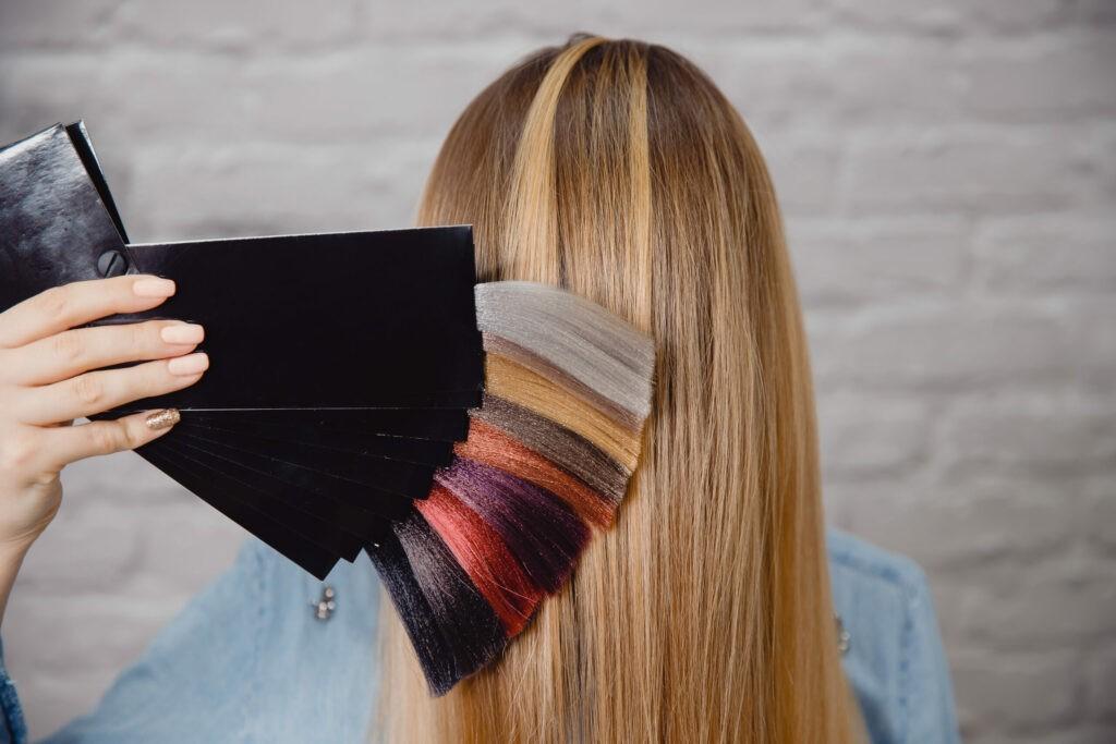 Colorimetria părului 7