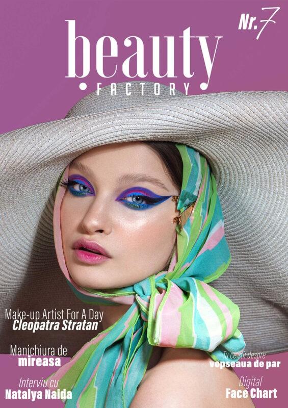 Coperta Beauty Factory Magazine Nr. 7 9