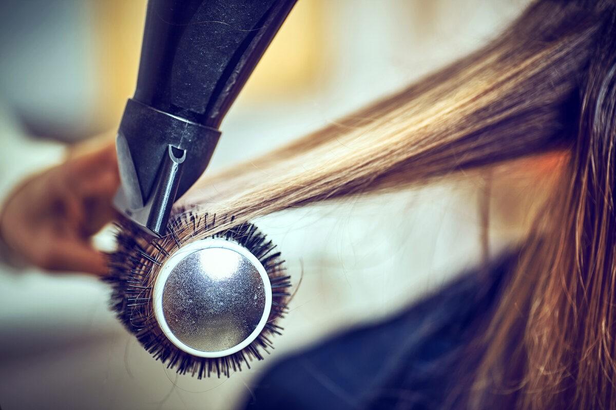 Ionizarea părului 5